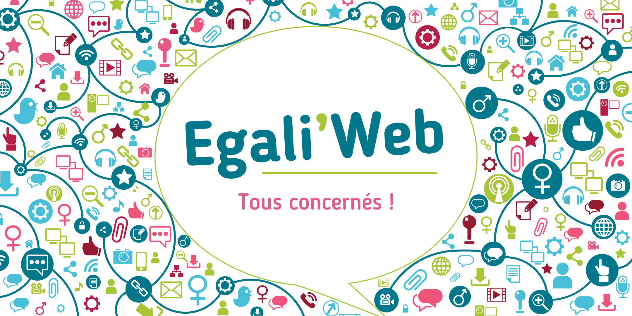 Illustration animation Egali'Web