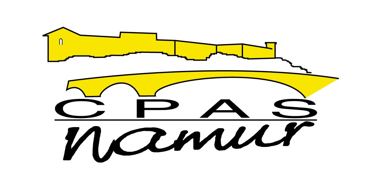 Logo du CPAS à Namur