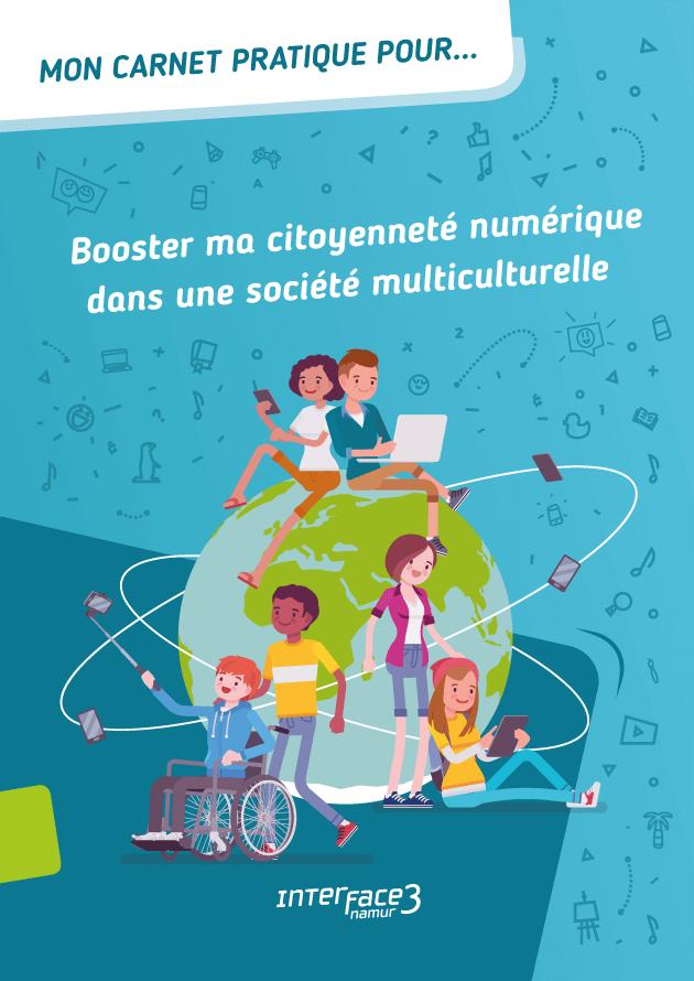 Couverture carnet citoyen numérique société multiculturelle